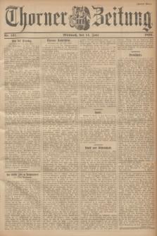 Thorner Zeitung. 1899, Nr. 137 (14 Juni) - Zweites Blatt