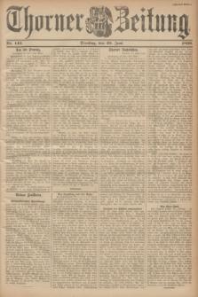 Thorner Zeitung. 1899, Nr. 142 (20 Juni) - Zweites Blatt
