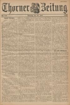 Thorner Zeitung. 1899, Nr. 147 (25 Juni) - Zweites Blatt
