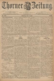 Thorner Zeitung : Begründet 1760. 1899, Nr. 153 (2 Juli) - Erstes Blatt