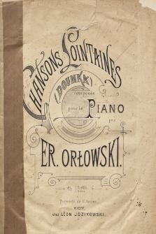 Chansons lointaines : (Doumka) : pour le Piano