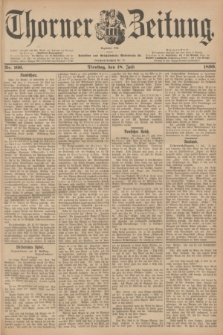 Thorner Zeitung : Begründet 1760. 1899, Nr. 166 (18 Juli)