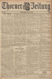Thorner Zeitung. 1899, Nr. 174 (27 Juli) - Zweites Blatt