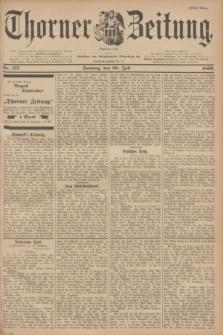 Thorner Zeitung : Begründet 1760. 1899, Nr. 177 (30 Juli) - Erstes Blatt