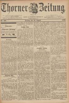 Thorner Zeitung : Begründet 1760. 1899, Nr. 199 (25 August)