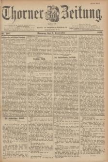 Thorner Zeitung : Begründet 1760. 1899, Nr. 207 (3 September) - Erstes Blatt