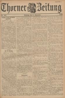 Thorner Zeitung. 1899, Nr. 207 (3 September) - Zweites Blatt