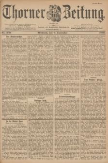 Thorner Zeitung : Begründet 1760. 1899, Nr. 209 (6 September) - Erstes Blatt