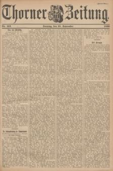 Thorner Zeitung. 1899, Nr. 213 (10 September) - Zweites Blatt