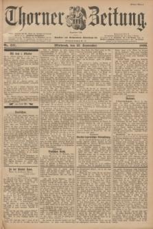 Thorner Zeitung : Begründet 1760. 1899, Nr. 227 (27 September) - Erstes Blatt