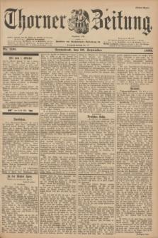 Thorner Zeitung : Begründet 1760. 1899, Nr. 230 (30 September) - Erstes Blatt