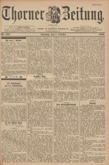 Thorner Zeitung : Begründet 1760. 1899, Nr. 231 (1 Oktober) - Erstes Blatt