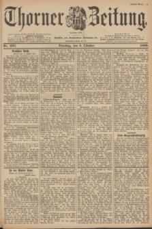 Thorner Zeitung : Begründet 1760. 1899, Nr. 232 (3 Oktober) - Erstes Blatt + dod.