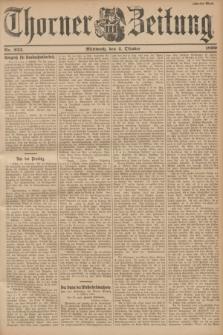 Thorner Zeitung. 1899, Nr. 233 (4 Oktober) - Zweites Blatt