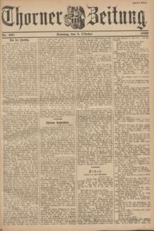 Thorner Zeitung. 1899, Nr. 237 (8 Oktober) - Zweites Blatt