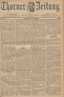 Thorner Zeitung : Begründet 1760. 1899, Nr. 241 (13 Oktober) + dod.