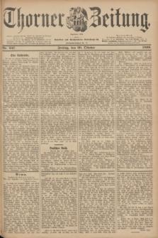 Thorner Zeitung : Begründet 1760. 1899, Nr. 247 (20 Oktober)