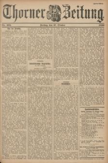 Thorner Zeitung. 1899, Nr. 253 (27 Oktober) - Zweites Blatt