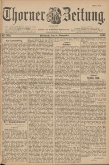 Thorner Zeitung : Begründet 1760. 1899, Nr. 263 (8 November) - Erstes Blatt