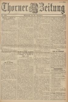 Thorner Zeitung. 1899, Nr. 275 (22 November) - Zweites Blatt