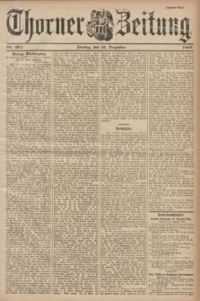 Thorner Zeitung. 1899, Nr. 294 (15 Dezember) - Zweites Blatt