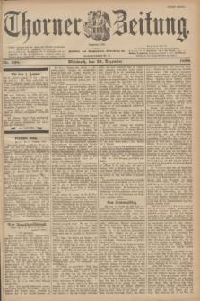 Thorner Zeitung : Begründet 1760. 1899, Nr. 298 (20 Dezember) - Erstes Blatt