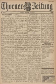 Thorner Zeitung : Begründet 1760. 1899, Nr. 304 (29 Dezember) - Zweites Blatt