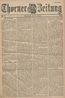 Thorner Zeitung. 1900, Nr. 10 (13 Januar) - Zweites Blatt
