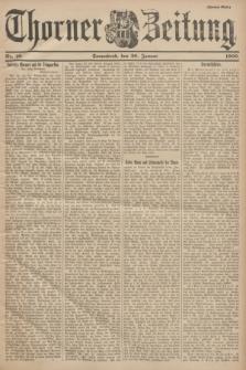 Thorner Zeitung. 1900, Nr. 16 (20 Januar) - Zweites Blatt