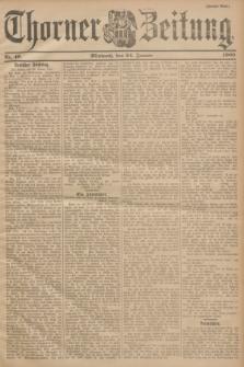 Thorner Zeitung. 1900, Nr. 19 (24 Januar) - Zweites Blatt