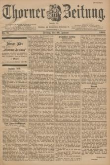 Thorner Zeitung : Begründet 1760. 1900, Nr. 21 (26 Januar) - Erstes Blatt