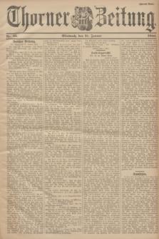 Thorner Zeitung. 1900, Nr. 25 (31 Januar) - Zweites Blatt