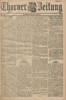 Thorner Zeitung. 1900, Nr. 34 (10 Februar) - Zweites Blatt