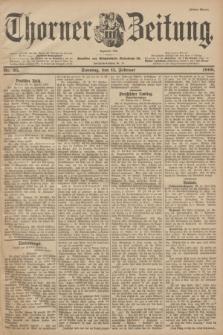 Thorner Zeitung : Begründet 1760. 1900, Nr. 35 (11 Februar) - Erstes Blatt