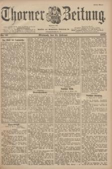 Thorner Zeitung : Begründet 1760. 1900, Nr. 37 (14 Februar) - Erstes Blatt