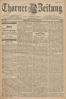 Thorner Zeitung : Begründet 1760. 1900, Nr. 46 (24 Februar) - Erstes Blatt