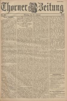 Thorner Zeitung. 1900, Nr. 48 (27 Februar) - Zweites Blatt