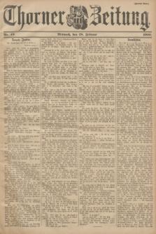 Thorner Zeitung. 1900, Nr. 49 (28 Februar) - Zweites Blatt
