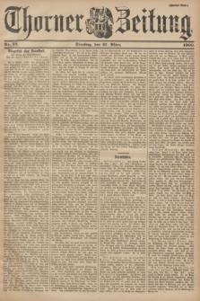 Thorner Zeitung. 1900, Nr. 72 (27 März) - Zweites Blatt