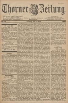 Thorner Zeitung : Begründet 1760. 1900, Nr. 78 (3 April) - Erstes Blatt