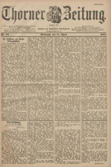 Thorner Zeitung : Begründet 1760. 1900, Nr. 89 (18 April) - Erstes Blatt