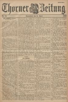 Thorner Zeitung : Begründet 1760. 1900, Nr. 92 (21 April) - Zweites Blatt