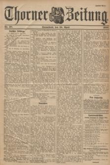 Thorner Zeitung. 1900, Nr. 98 (28 April) - Zweites Blatt