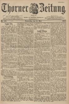 Thorner Zeitung : Begründet 1760. 1900, Nr. 108 (10 Mai) - Erstes Blatt