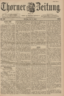 Thorner Zeitung : Begründet 1760. 1900, Nr. 131 (8 Juni) - Erstes Blatt