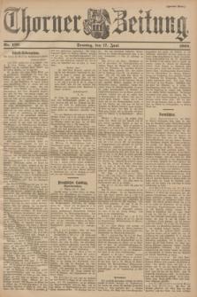 Thorner Zeitung. 1900, Nr. 139 (17 Juni) - Zweites Blatt