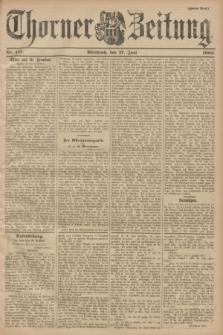 Thorner Zeitung. 1900, Nr. 147 (27 Juni) - Zweites Blatt