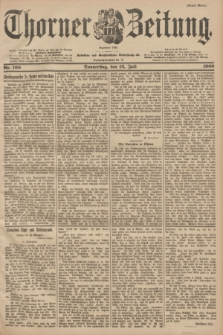 Thorner Zeitung : Begründet 1760. 1900, Nr. 160 (12 Juli) - Erstes Blatt
