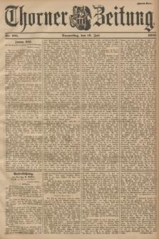 Thorner Zeitung. 1900, Nr. 166 (19 Juli) - Zweites Blatt