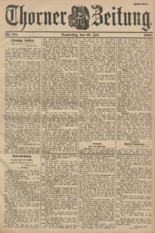 Thorner Zeitung : Begründet 1760. 1900, Nr. 172 (26 Juli) - Zweites Blatt